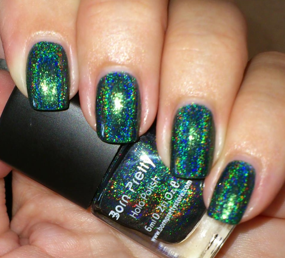 Green Glitter Nail Polish Uk: Wendy's Delights: Born Pretty Holographic Holo Glitter