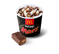 McFlurry Mars McDonalds
