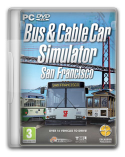 Bus and cable car simulator san francisco – pc 2012