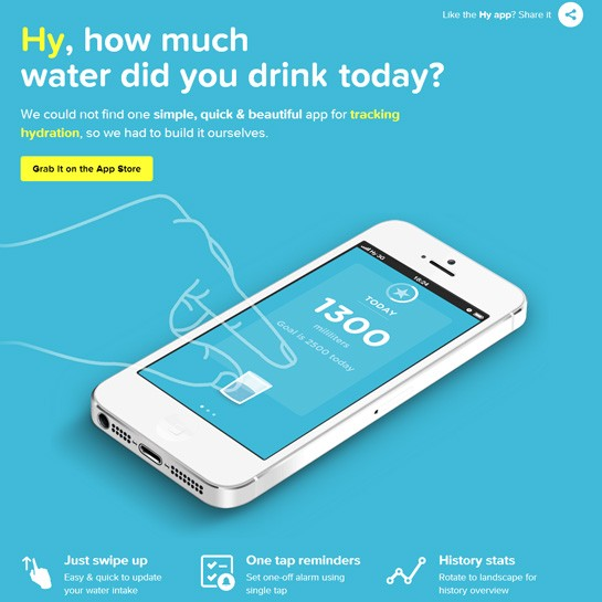 30 Beautiful Mobile App Websites for Design Inspiration