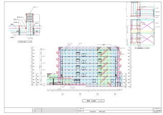 仮設計画図 立面図1