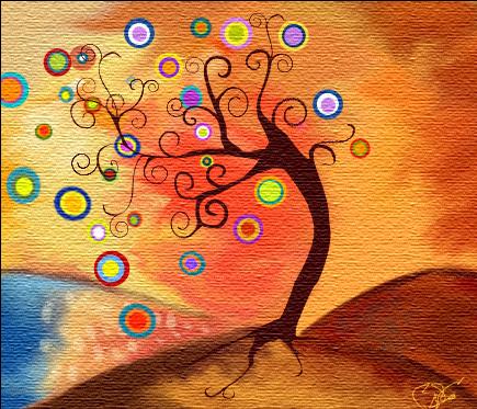 Creativid arte arte abstracto - Color y pintura ...
