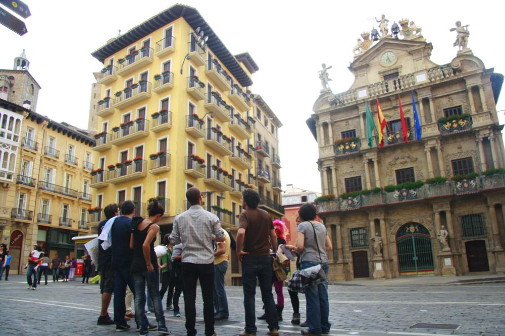 Albergues movic pamplona el territorio - Pamplona centro historico ...