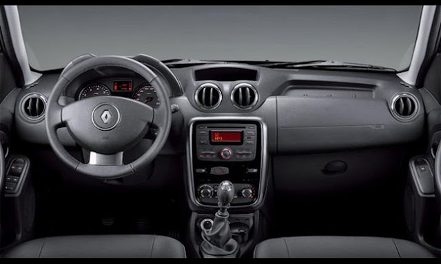 renault has changed the interior of the duster 2013 garage car. Black Bedroom Furniture Sets. Home Design Ideas