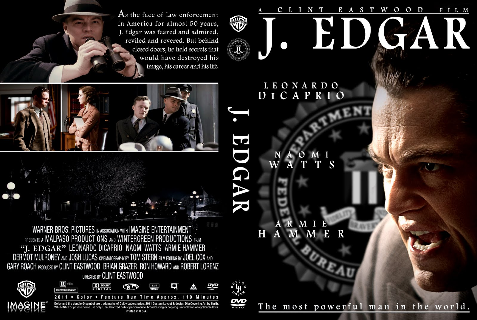 J Edgar Movie DVD COVERS AND ...