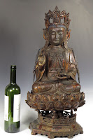 17th C. Chinese Bronze Buddha