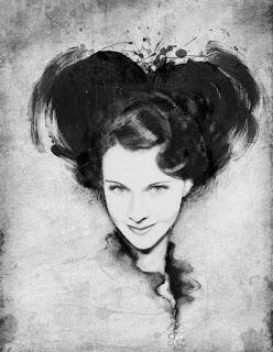 Dibujos Rostros Tinta