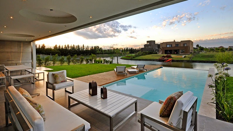 Casa cabo arquitectura minimalista vanguarda architects for Casas con piscinas fotos