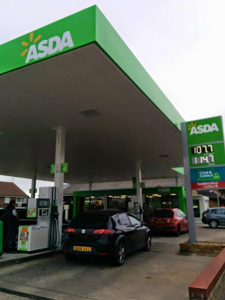 New Asda Petrol Station Rainham