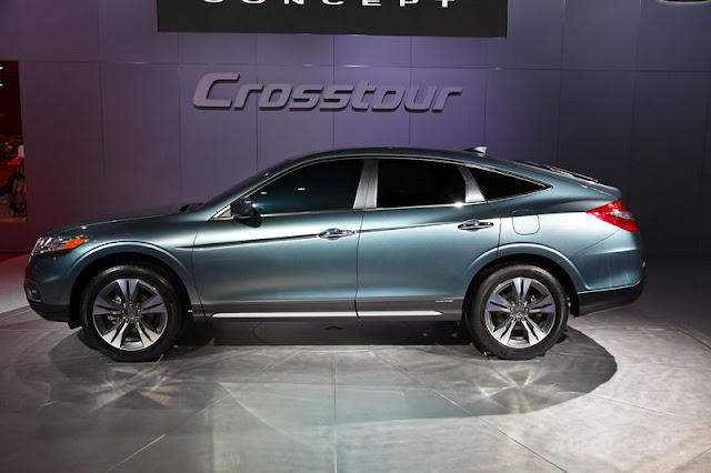Crosstour 4WD EX-L, Crosstour 4WD EX-L Crosstour 2WD EX-L Navi, Crosstour 2WD EX, and Crosstour 2WD EX-L