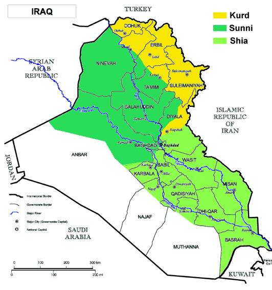 Springtime of Nations: The Iraq War Is Over, but Is Iraq\'s Partition ...