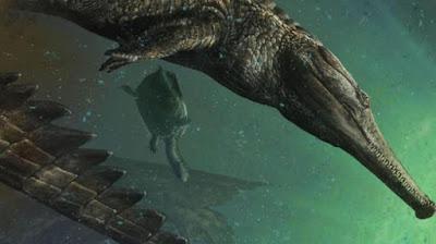 Machimosauru Rex : Buaya Laut Terbesar Sepanjang Masa