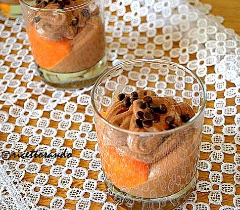 dessert cioccoarancia diolce di arance e cioccolato e buon Natale 2014