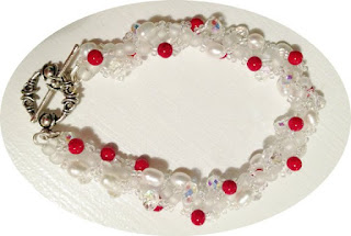 Snow and Ice Bracelet