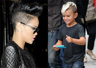 Rihanna inspired by Stefani's son