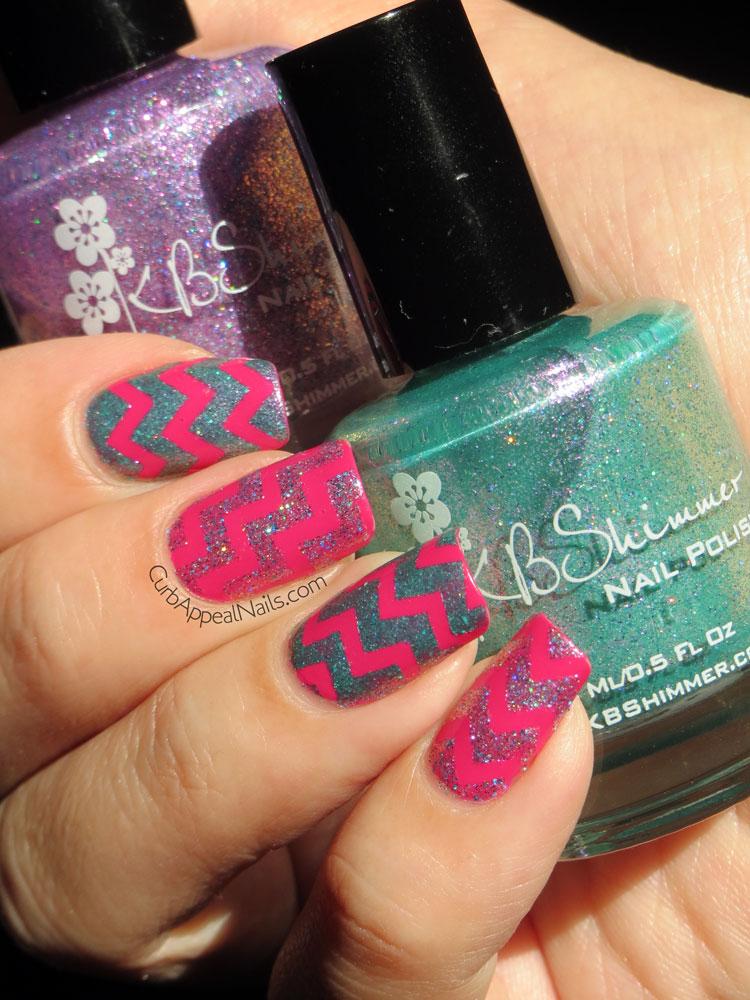 Curb Appeal Nails Nail Art Polish Blog Zig Zag Nail Art With
