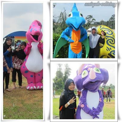 Maskot di Wonderland Melaka
