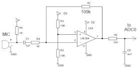 Wiring Machine: Microphone Echo Circuit Diagram