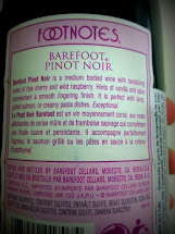 Sabor De Tabaco Vinho Californiano Barefoot Pinot Noir