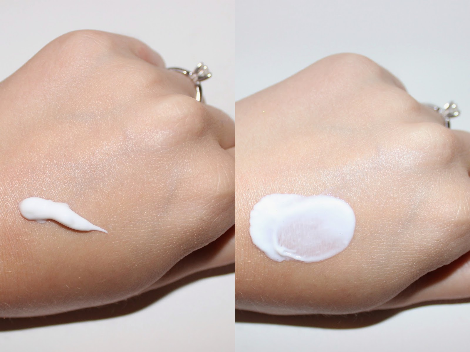 Simple Protecting Light Moisturizer with SPF 15 Swatch