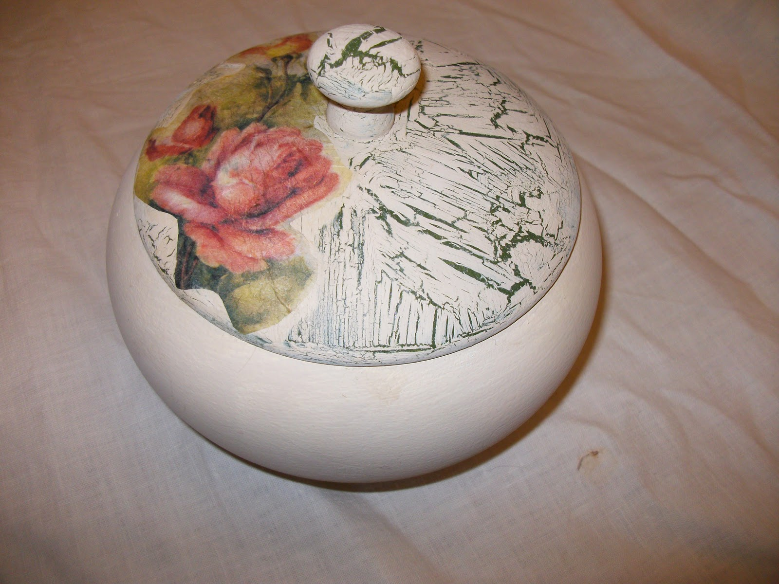 El blog de la restauradora t cnicas decorativas caja - Tecnicas decorativas ...