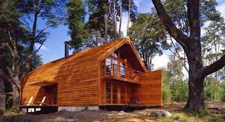 Casa galpón granero en la IX región de Chile