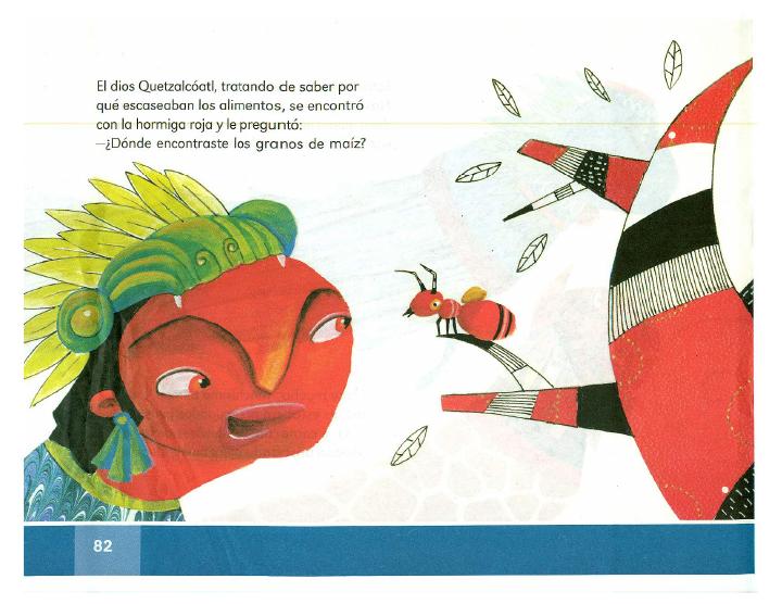 La leyenda del maíz español lecturas 2do bloque 5/2014-2015