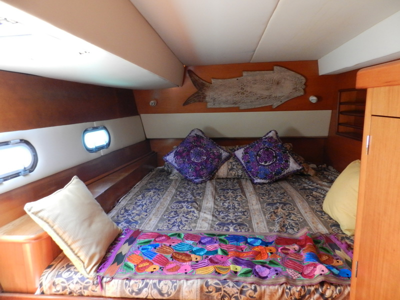 Catamaran Main Bedroom