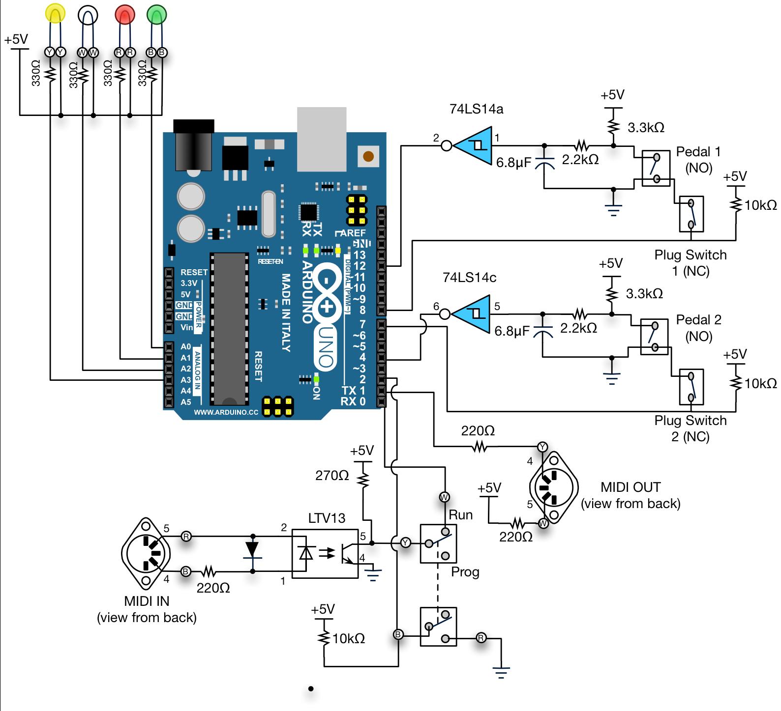 Progressive Odyssey: MIDI Controller