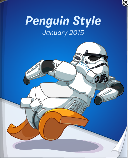 Club Penguin January 2015 Penguin Style Catalog Cheats
