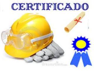 Seu certificado de Segurança do Trabalho