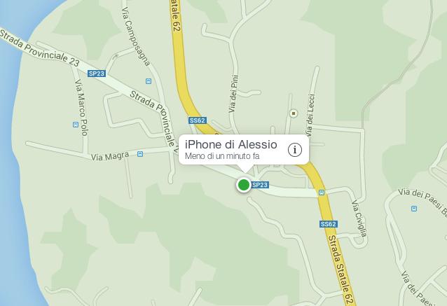 come ritrovare iphone spento