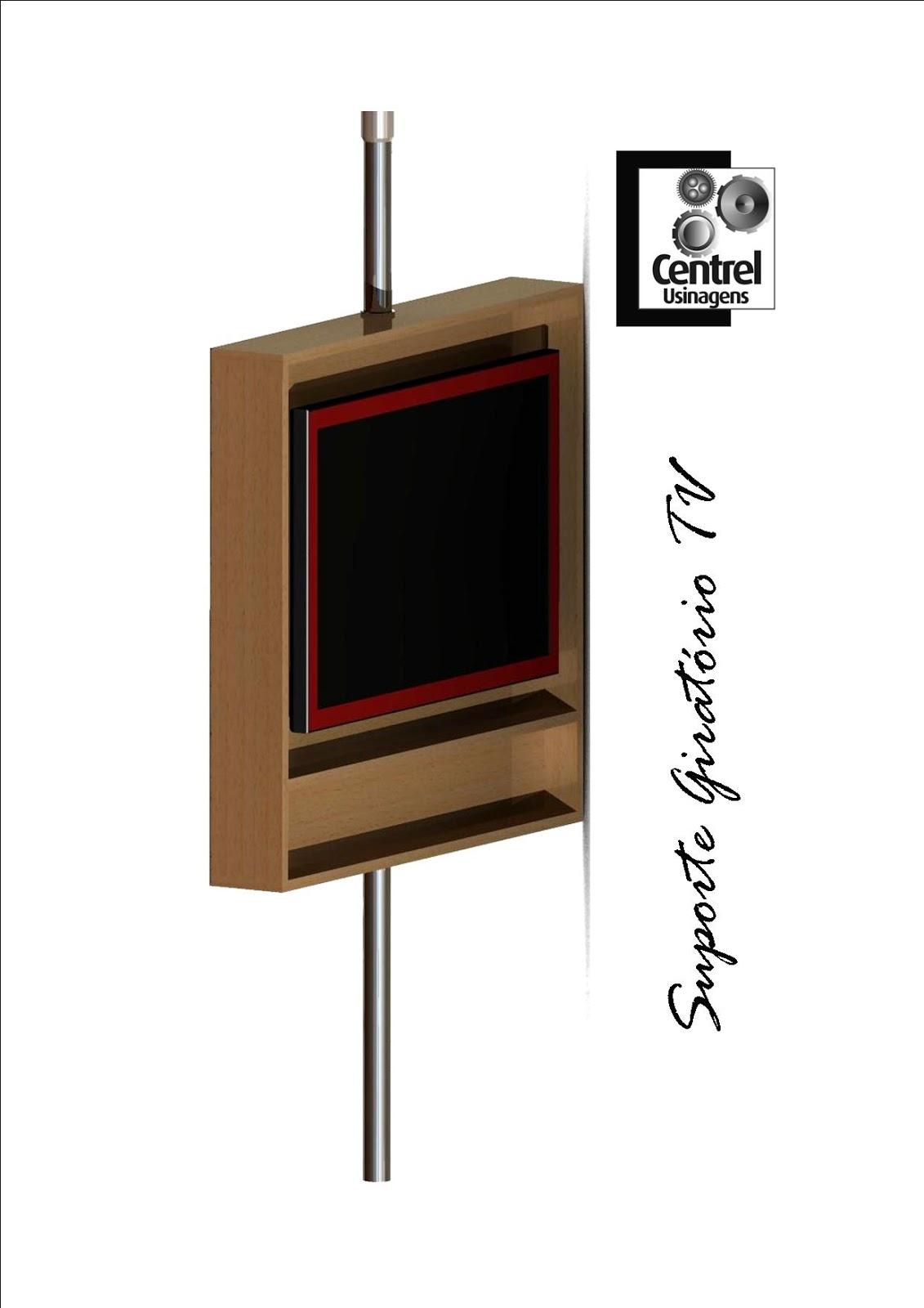 Vindo ao nosso Blog!: Suporte Giratório de TV para caixa de madeira #663525 1131x1600