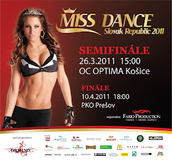 Campaign for Miss Dance Slovak Republic 2011