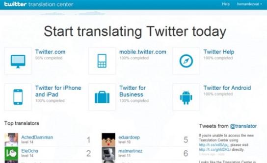 traducción voluntaria twitter