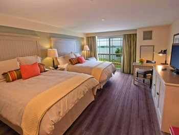 Wow....Nice Rooms at the New 1000Islands Harbor Hotel in Clayton