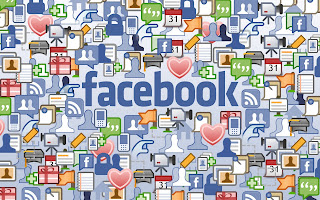 Facebook Icons Collection HD Desktop Wallpaper