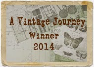 Proud to be a Vintage Journey Winner August 2014