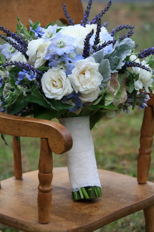 Something Blue Bride's Bouquet, Rose Bridal Bouquet, Rose Bouqet, Wedding Bouquet