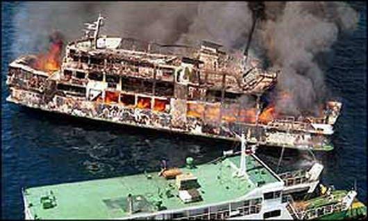 10 Peristiwa Kapal Karam di Laut Dengan Korban Terbanyak