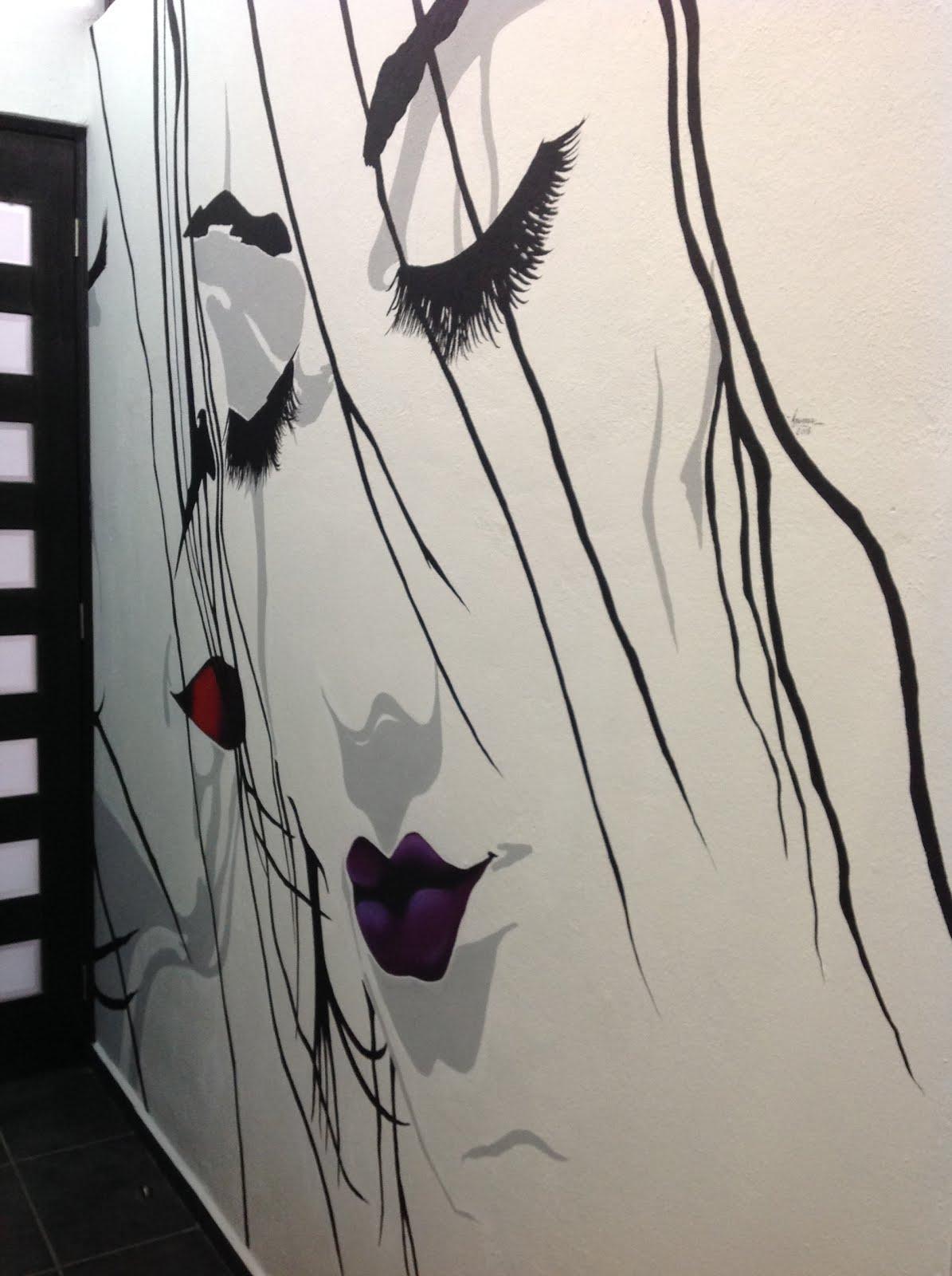 MURAL ARTÍSTICO DECORATIVO PARA BAÑO