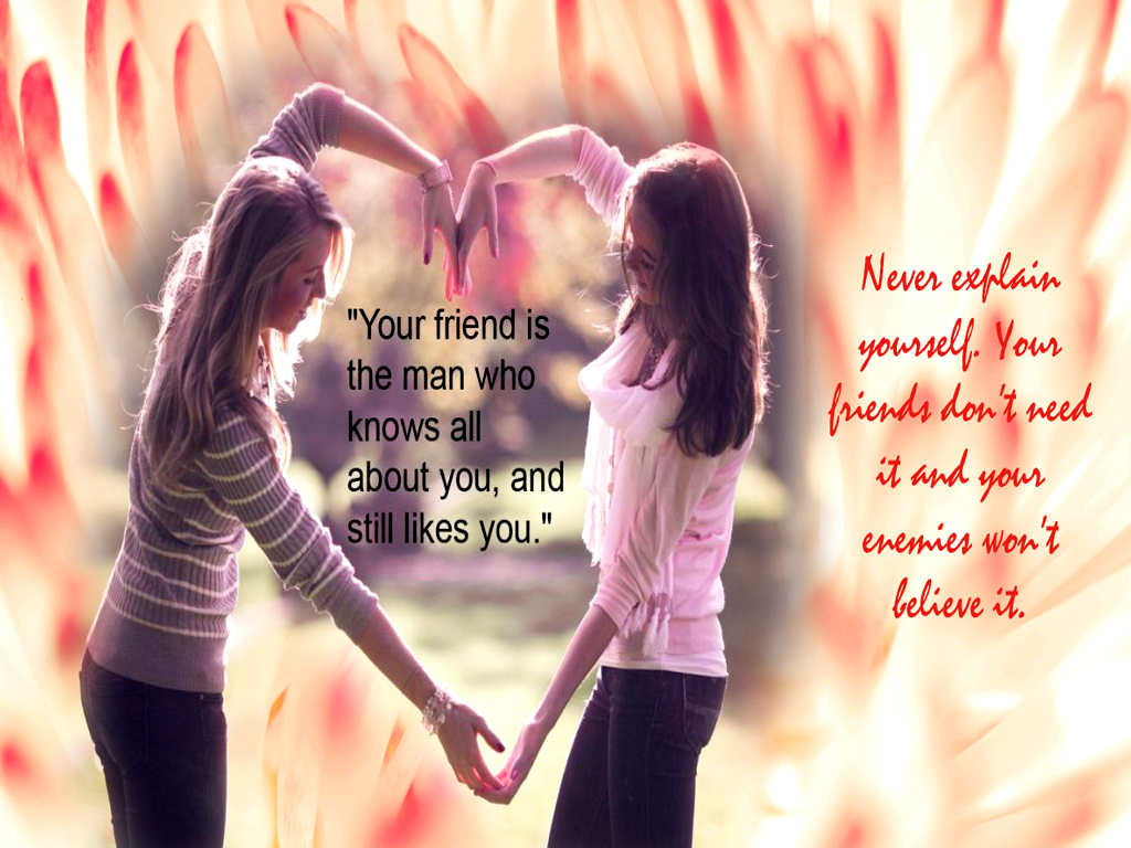 Wallpaper download love and friendship - Looking For The Best Friendship Quotes Pictures