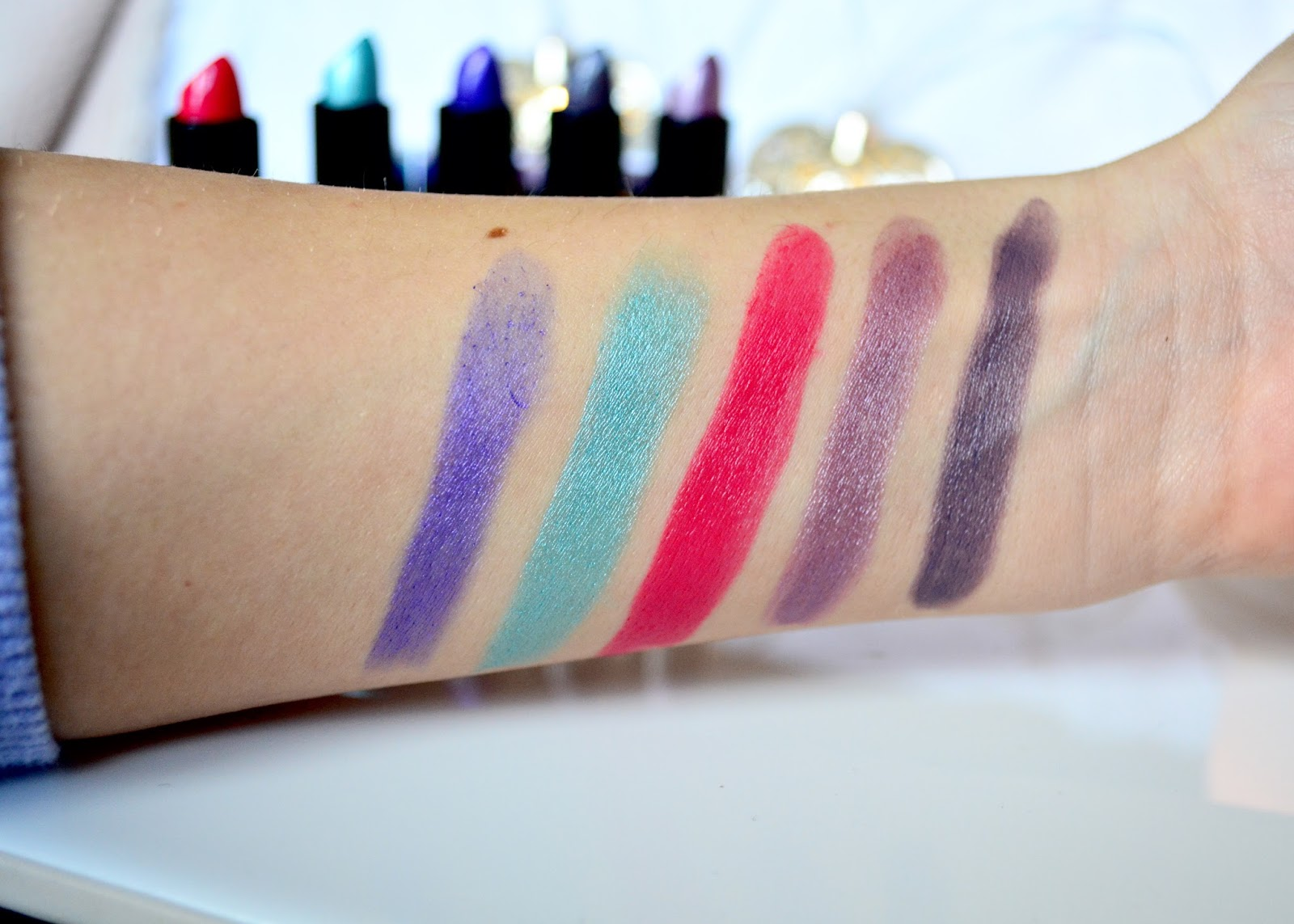 Makeup Revolution, Makeup Revolution Unicorns Unite Lipsticks, Lipsticks, Unicorns Unite, Makeup, Lipstick Collection, Collection, Review,