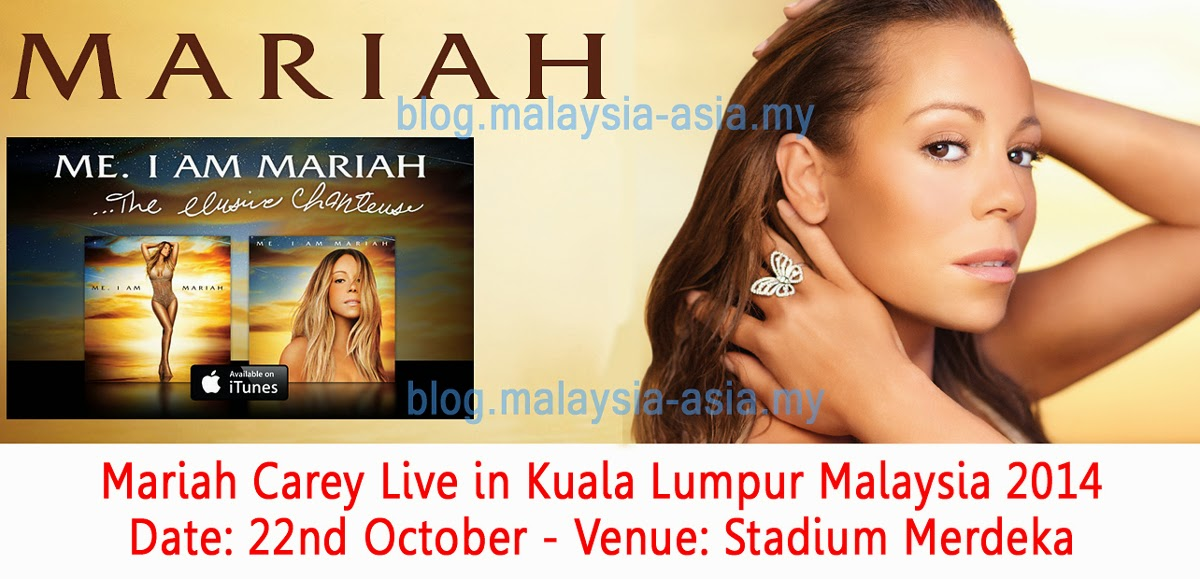 Mariah Carey Live in KL, Malaysia 2014