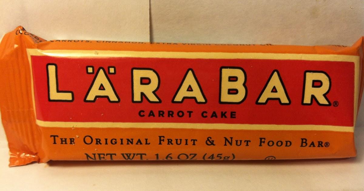 Carrot Cake Larabar Review