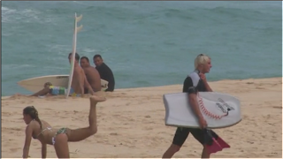 Houston,Andre Botha, et Maccarthy  hawaii 2011