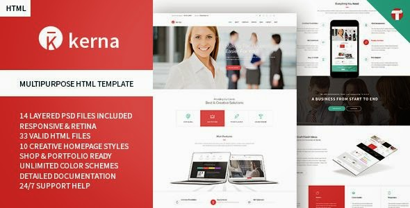 33 New Awesomely Design Premium Themes of 24 March 2015