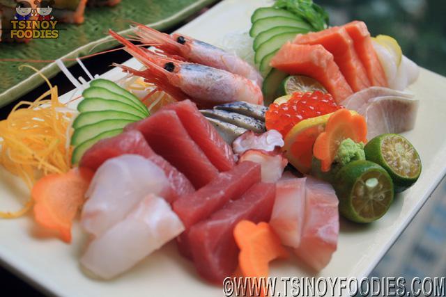 tokujo sashimi moriawase