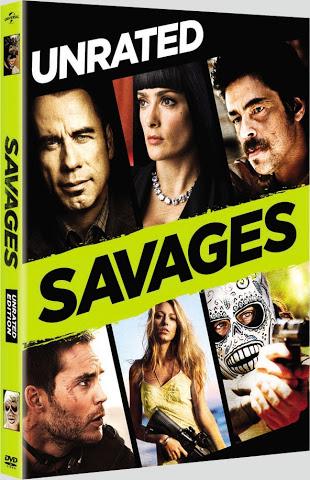 Salvajes DVDR NTSC Español Latino Menú Full 2012