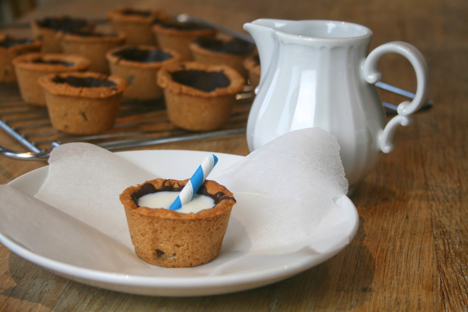 Cookies and Milk Shot Cups